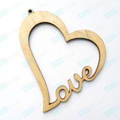 Image result for подвеска сердце из дерева