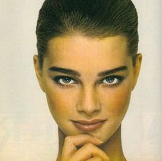 Brooke Shields, early 80s