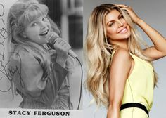 """Fergalicious Before Fergie became an international superstar and the only female member of The Black Eyed Peas, she was a child star that went by her real name, Stacy Ferguson. You may remember her from the popular kids' show """"Kids Incorporated."""""""