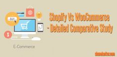 Shopify vs. WooCommerce: Which is Right for You?  ‪#‎eCommerce‬ ‪#‎Shopify‬ ‪#‎WooCommerce‬ ‪#‎Wordpress‬