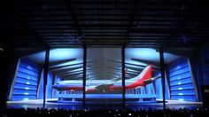 Southwest Airlines Projection Mapping Experience. DALLAS – Southwest Airlines revealed a new look with a stunning visual display, facilitated by Grandesign M...