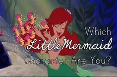 """Which """"Little Mermaid"""" Character Are You buzzfeed quiz I got Flounder, who I used to love back in the day haha"""