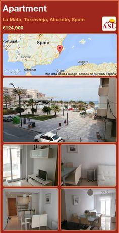 Apartment in La Mata, Torrevieja, Alicante, Spain ►€124,900 #PropertyForSaleInSpain