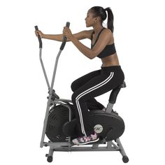 Elliptical Bike 2 IN 1 Cross Trainer Exercise Fitness Machine Home Gym Workout Review