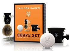 Amazon.com: Van Der Hagen Men's Luxury, Shave Set: Health & Personal Care