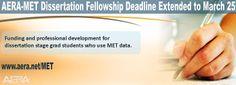 American educational research association aera dissertation grants