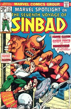Marvel Spotlight #25 cover by Gil Kane