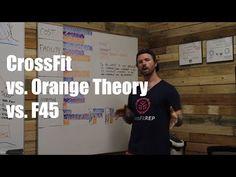 CrossFit vs Orange Theory Fitness (OTF) vs F45 - YouTube