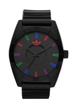 adidas Originals 'Santiago' Polyurethane Strap Watch, 42mm | Nordstrom