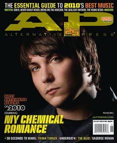 AP 258 // Jan. 2010 // My Chemical Romance (Frank Lero)