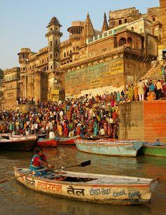 The Ganges at Varanasi, India