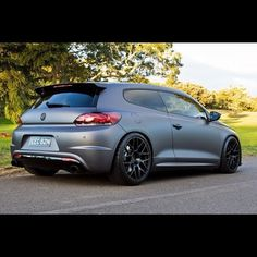Volkswagen Scirocco. Damn I wish they would sell this in the U.S.