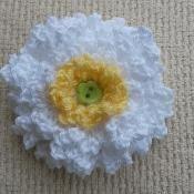 Picot-Picot Flower - via @Craftsy
