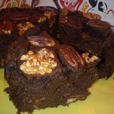 Brownie  integral de calabacín🍞🥒