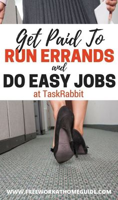 Interested in getting paid to run errands,such as grocery shopping, for people in your area?Then you should become a Tasker with TaskRabbi #incomefromhomegetcareer