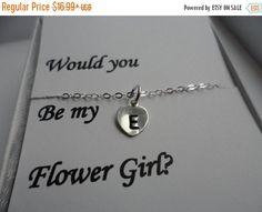 ON-SALE SALE  Flower Girl Personalized by weddingbellsdesigns