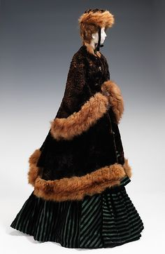 """The Metropolitan Museum of Art - """"1874 Doll""""   I'd love to see these dolls restored and displayed some day."""