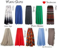 I luv all the wonderful colors! It is fun being an apostolic Pentecostal lady! Cute Skirt Outfits, Cute Skirts, Modest Outfits, Boho Outfits, Modest Fashion, Boho Fashion, Maxi Skirts, Fashion Outfits, Dress Patterns