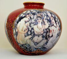 Ceramic Vase Red