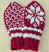 Knitting Pattern for Baby Winter Mittens Norwegian Selbu Baby Winter Mittens, Baby Mittens, Knit Mittens, Knitted Gloves, Knitting Charts, Baby Knitting Patterns, Free Knitting, Jumper Patterns, Mittens Pattern