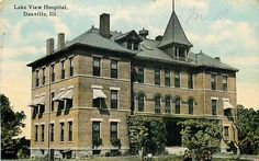 Danville, IL - Lake View Hospital - Exterior View - Knox & Co. - 10.13.1913.