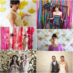 Ideas DIY para el photocall/Photobooth DIY inspiration