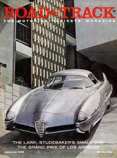 La Velocita' — archaictires: 1955 Alfa Romeo BAT 9 by Bertone...