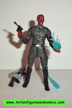 marvel universe RED SKULL captain america movie 08 hasbro 3.75 inch action figures complete