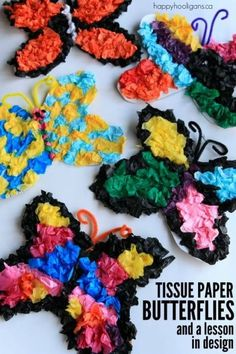 Tissue Paper Butterf