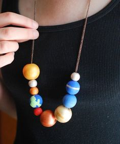 Make a Stellar Solar System Necklace