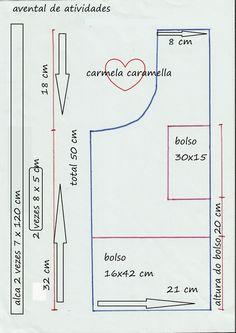 Carmela Caramella : avental infantil
