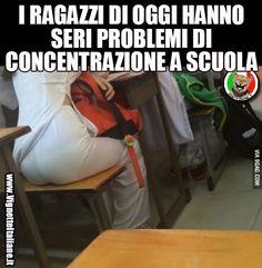 * La scuola che distrae (www.VignetteItaliane.it)
