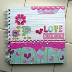 love notes notebook **WRMK** - Two Peas in a Bucket