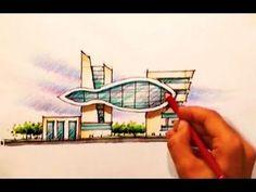 architect emad zand - sketch 02 - خلاقیت در معماری عمادالدین زند