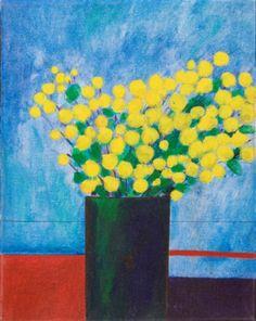 Vaso com flores, 1968 Aldemir Martins (Brasil, 1922-2006) acrílica sobre tela, 41 x 33 cm