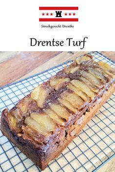 Streekgerecht: Drentse Turf Dutch Recipes, Sweet Recipes, Baking Recipes, Cookie Recipes, American Cake, Good Food, Yummy Food, Sweet Pie, Bread Cake
