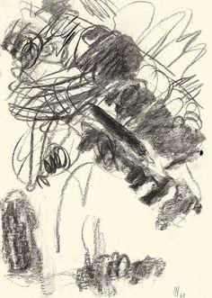 Der Maler Max Weiler 1910-2001 | Kunst - Zeichnungen und Arbeiten auf Papier - Autonomie der Mittel, 1960-1968 Abstract Drawings, Windows, Journal, Doors, Artwork, Painting, Inspiration, Paper, Middle