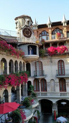The Mission Inn in Riverside, California. Gorgeous