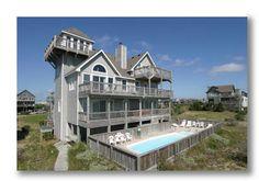 AVON Vacation Rentals   Play-N-Hooky Too - Oceanfront Outer Banks Rental   197 - Hatteras Rental