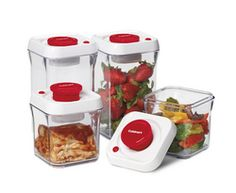 CFS-TC-S8R - 8 Pc Set - Fresh Edge™ Red Collection - Storageware - Products - Cuisinart.com