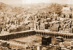 Makkah and the hajj in the photos of pilgrims from across the world Islamic Images, Islamic Art, Paris Skyline, New York Skyline, Mekka, Islamic Architecture, North Africa, Historical Sites, Old Photos