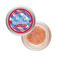 [Berry Delicious] Strawberry Lip Jam Scrub