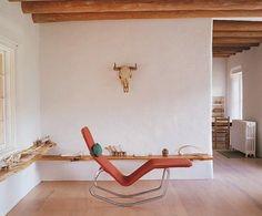 shelves    Georgia O'Keefe's Studio, Remodelista