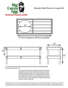 Large green egg table plans I didn t hesitate to dive in Patio and outdoor kitchen by Outdoor Homescapes of Houston features a Big Big Green Egg Outdoor Kitchen, Outdoor Kitchen Design, Outdoor Kitchens, Diy Kitchen, Big Green Egg Large, Large Egg, Green Egg Grill, Green Egg Recipes, Grill Table