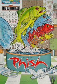 Phish @ Walnut Creek Amphitheatre, Raleigh, NC,  6/29/94