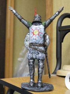 "Solaire Praise the Sun! 8"" statue limited edition of 100 Preorder"
