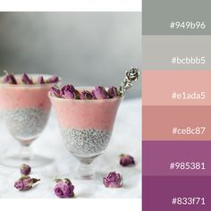#cocktail #colourpalette #roses #pink #gray Cocktails, Colour Palettes, Tableware, Pink, Roses, Marketing, Gray, Colors, Color Pallets