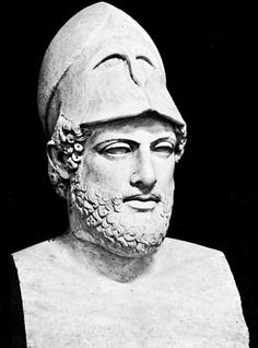 Pericles, first elected ruler of Athens.  He has a profound influence on Athenian society.  He promoted the arts and literature.