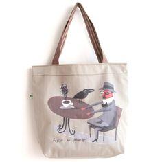 Tote bag  illustrations by Afonso Cruz