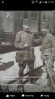 Mustafa Kemal in Picardie, France, 1910 Division, Turkey History, Ww1 Soldiers, Ottoman Turks, Turkish Army, The Legend Of Heroes, The Turk, Recent Events, Great Leaders